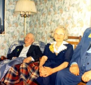 Grandpa and Grandma on some anniversary