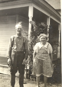 Grandpa and Grandma Snyder