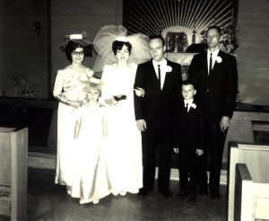 Jerry and Karen's wedding picture